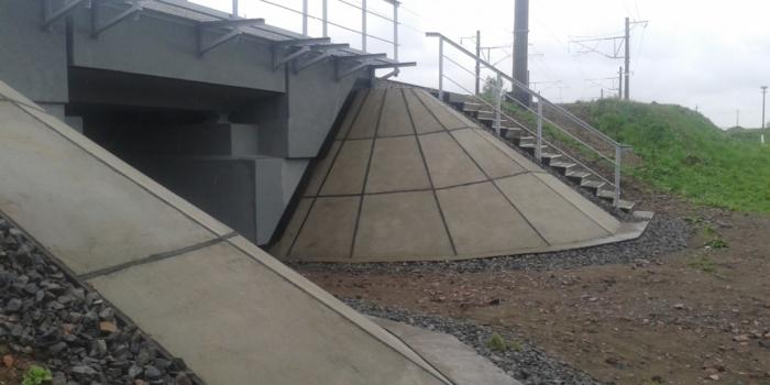 Ремонт железнодорожного моста 292 км участка Жлобин-Осиповичи