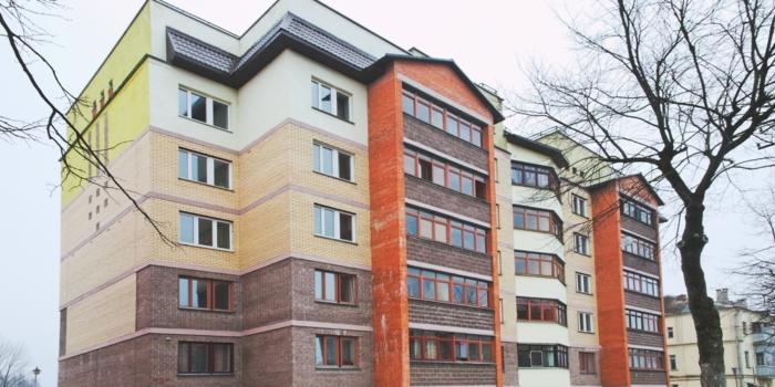40-квартирный жилой дом по ул Герцена в г. Витебске