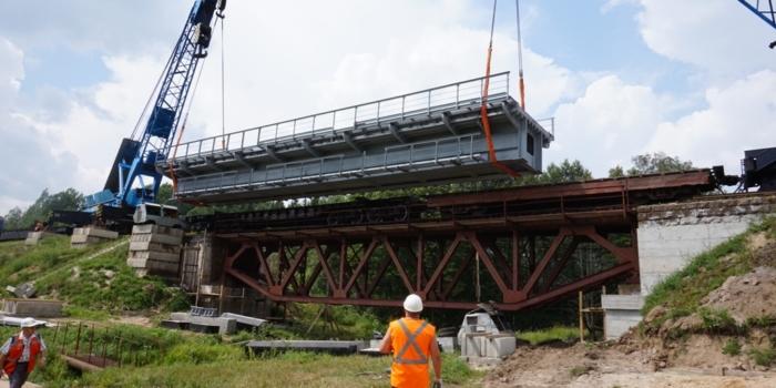 железнодорожный мост на 80 км пк1 участка осиповичи-могилев