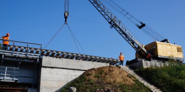 Капитальный ремонт железнодорожного моста на 80 км пк1 участка осиповичи-могилев