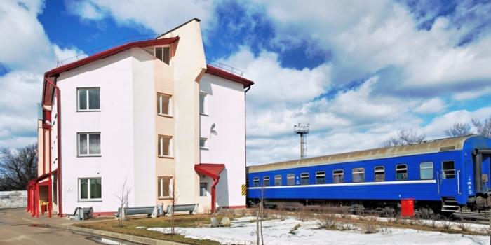 Производственно-бытовой корпус пункта технического обслуживания пассажирских вагонов на станции Полоцк