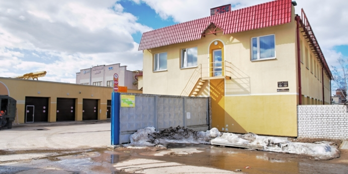Модернизация зданий ШЧ-15 ст. Полоцк