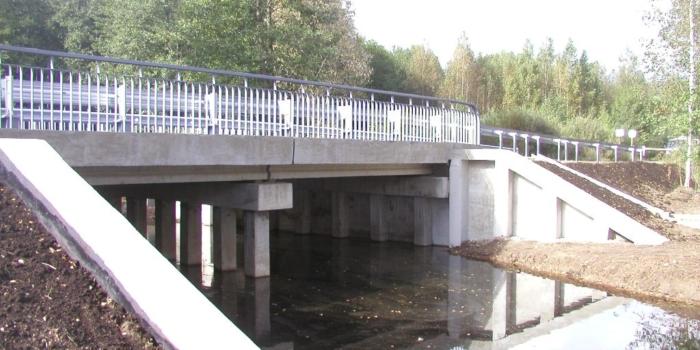 капитальный ремонт автомобильного моста на лесохозяйственной дороге №3