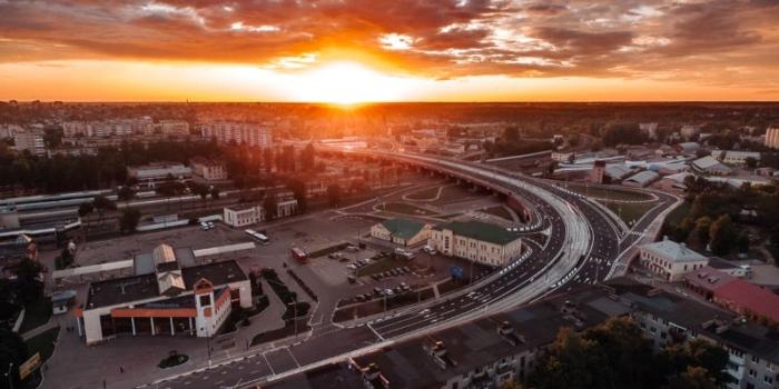 Реконструкция путепровода Полоцкий в г. Витебске